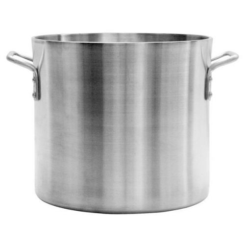 Winco USA Super Aluminum Stock Pot 20 Quart Heavy Weight Aluminum