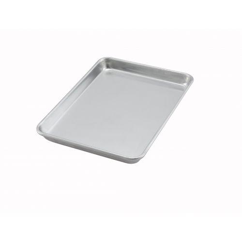 Winco ALXP-1013, 9.5x13-Inch Quarter-Size 20-Gauge Aluminum Sheet Pan, NSF