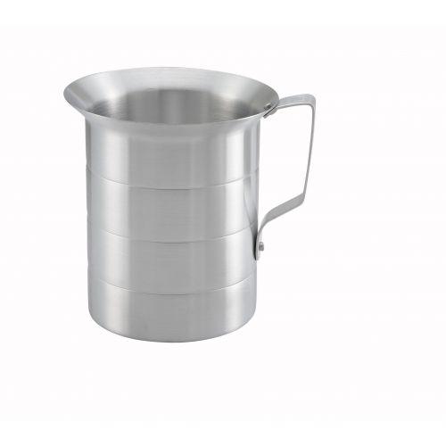 Winco AM-2, 2-Quart Aluminum Measuring Cup