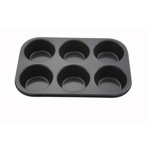 Winco AMF-6NS, 13-8.5-Inch 6-Cup Non-Stick Aluminum Muffin Pan