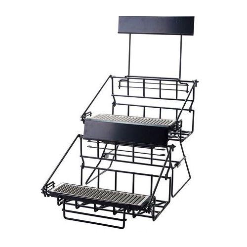Winco APRK-4, Four-Compartment Wire Airpot Rack