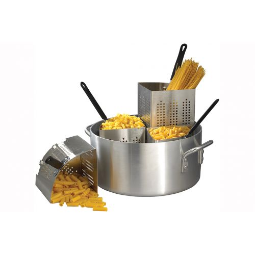 Winco APS-20, 20-Quart Pasta Cooker with 4 Insets
