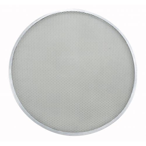 Winco APZS-20, 20-Inch Diameter Seamless Aluminum Pizza Screen