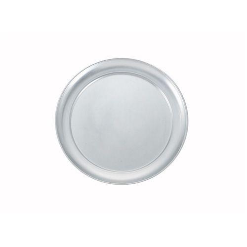 Winco APZT-12, 12-Inch Diameter Wide-Rimmed Aluminum Pizza Pan