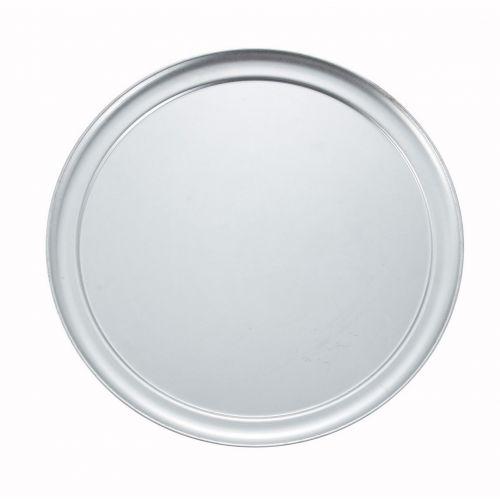 Winco APZT-14, 14-Inch Diameter Wide-Rimmed Aluminum Pizza Pan