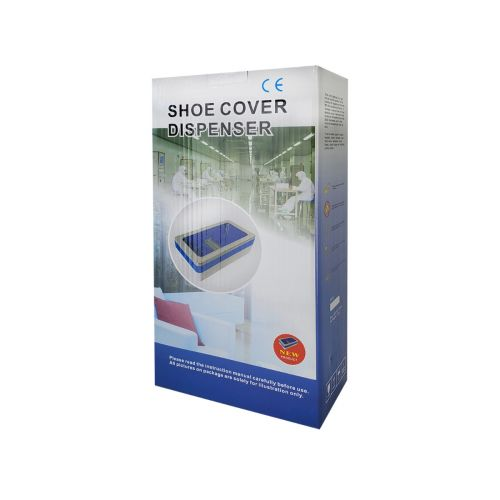 ASCD+100 Automatic Shoe Cover Dispenser (100 Disposable Shoe Covers Included), EA