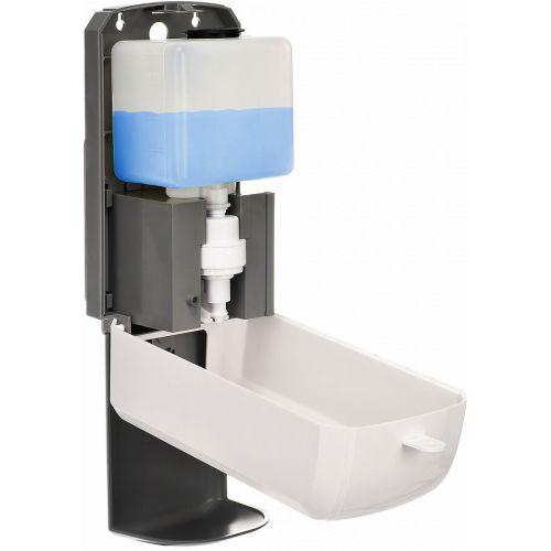 SafePro ASD1200-S-T 1200 ML Automatic Hands-Free Bulk Liquid/Gel Hand Sanitizer/Soap Dispenser w/Tray, EA
