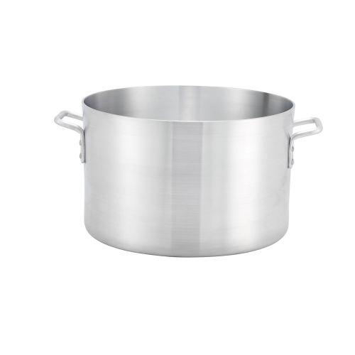 Winco ASSP-34, 34-Quart 10-Inch High Aluminum Sauce Pot with 15.8-Inch Diameter, NSF