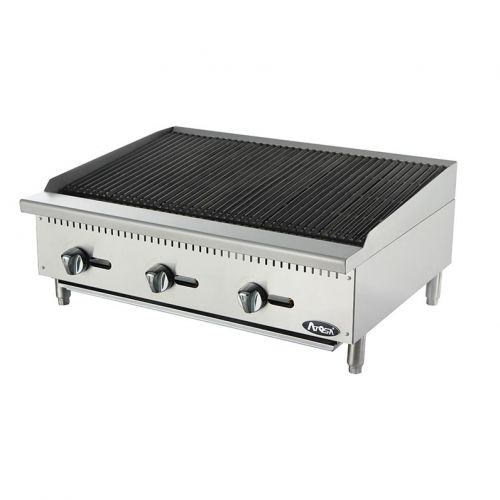 Atosa CookRite ATCB-36, 36-Inch Heavy Duty Char-Rock Broiler