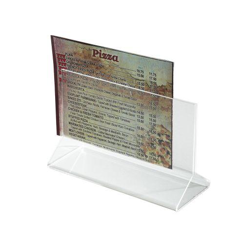 Winco ATCH-53 5.5x3.5-Inch Acrylic Menu Card Holder
