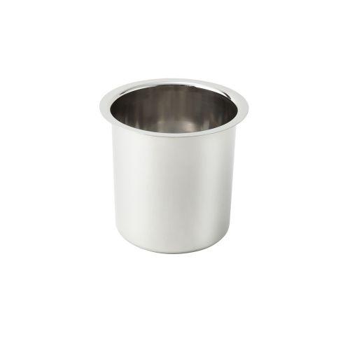 Winco BAM-1.5, 1.5-Quart Stainless Steel Bain Marie, 4.25-Inch Diameter x 5.9-Inch High, Fits ADP-444
