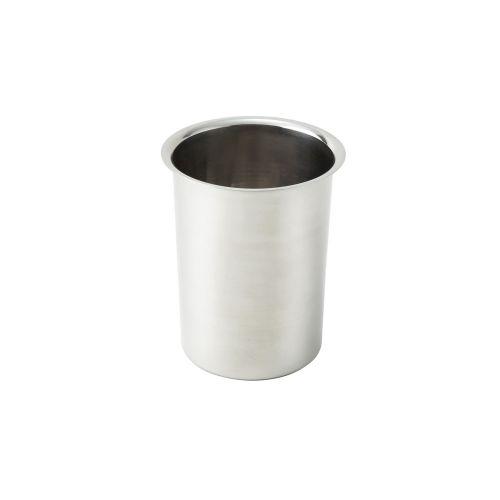 Winco BAM-2, 2-Quart Stainless Steel Bain Marie, 4.8-Inch Diameter x 6.75-inch High