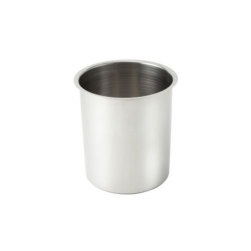 Winco BAM-4.25, 4.25-Quart Stainless Steel Bain Marie, 6.5-Inch Diameter x 7.25-Inch High