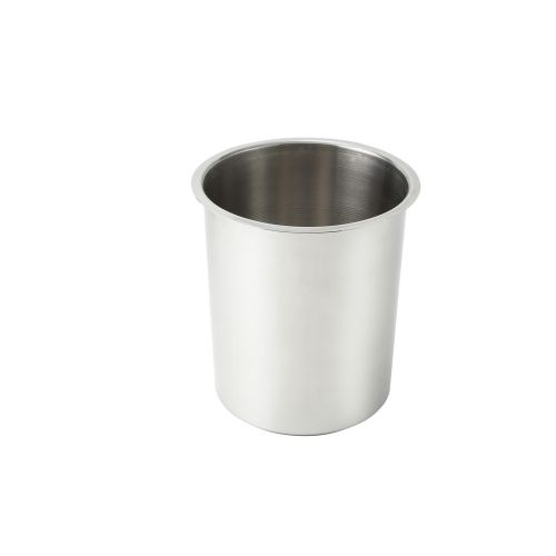 Winco BAM-8.25, 8.25-Quart Stainless Steel Bain Marie, 8-Inch Diameter x 9.75-Inch High