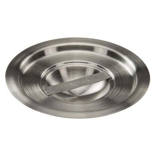 Winco BAMN-1.5C, 5-1/2-Inch 1.5-Quart Stainless Steel Bain Marie Pot Cover, NSF