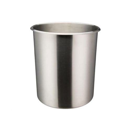 Winco BAMN-12, 12-Quart Stainless Steel Bain Marie Pot w/о Lid, NSF
