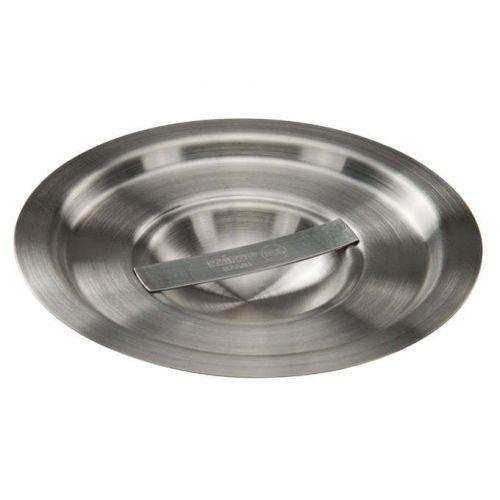 Winco BAMN-2C, 5-3/4-Inch 2-Quart Stainless Steel Bain Marie Pot Cover, NSF