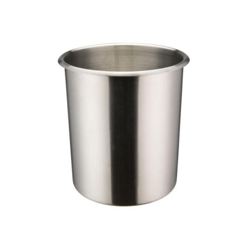 Winco BAMN-6, 6-Quart Stainless Steel Bain Marie Pot w/о Lid, NSF