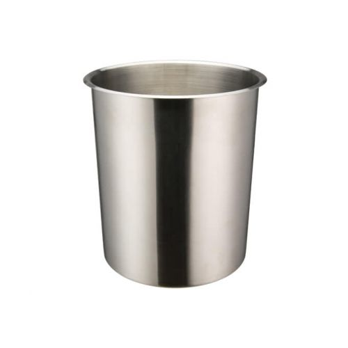 Winco BAMN-8.25, 8.25-Quart Stainless Steel Bain Marie Pot w/о Lid, NSF