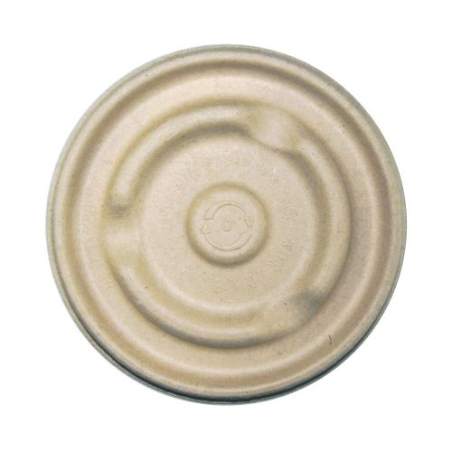 World Centric BBL-SC-U12, Fiber Lid for 12-16-Ounce Fiber Bowls, 500/CS, ASTM D6400, BPI, USDA