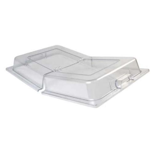 Winco C-DPFH, Full-Size Dome Hinged Polycarbonate Cover