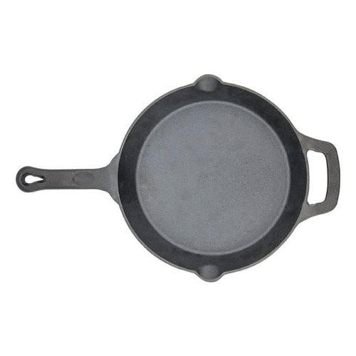 Winco CAST-10, 10-Inch Dia FireIron Cast Iron Skillet