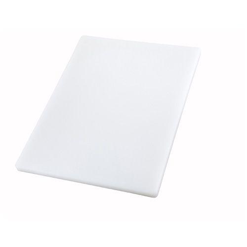 Winco CBXH-1824, 18x24x1-Inch White Cutting Board, NSF