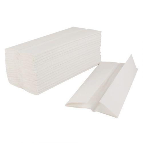 FREE /& FAST Shipping!! C-Fold Paper Towels Case of 2400 White