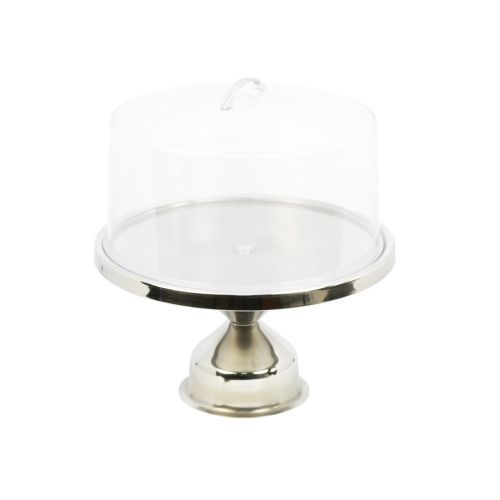Winco CKS-13, 13-Inch Stainless Cake Stand