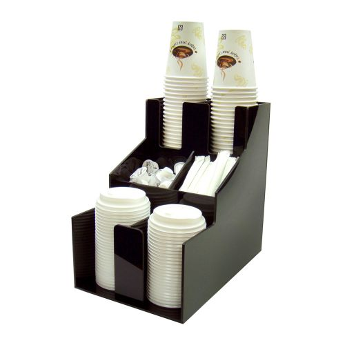 Winco CLSO-2T, Cup and Lid Organizer, 3 Tiers, 2 Stacks