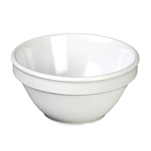 Thunder Group CR313W 8 Oz 4 1/4 Inch Western White Melamine Bouillon Cup, DZ
