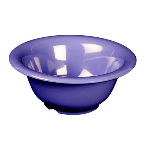 Thunder Group CR5510BU 10 Oz 5 1/2 Inch Western Purple Melamine Soup Bowl, DZ