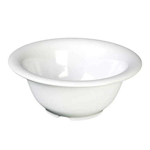 Thunder Group CR5712W 15 Oz 7 1/4 Inch Western White Melamine Soup Bowl, DZ