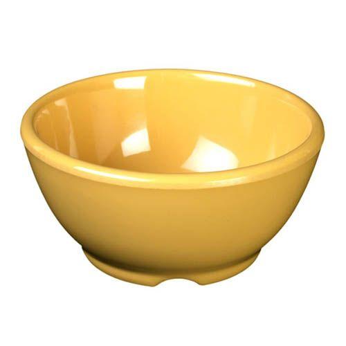 Thunder Group CR5804YW 10 Oz 4 5/8 Inch Western Yellow Melamine Soup Bowl, DZ