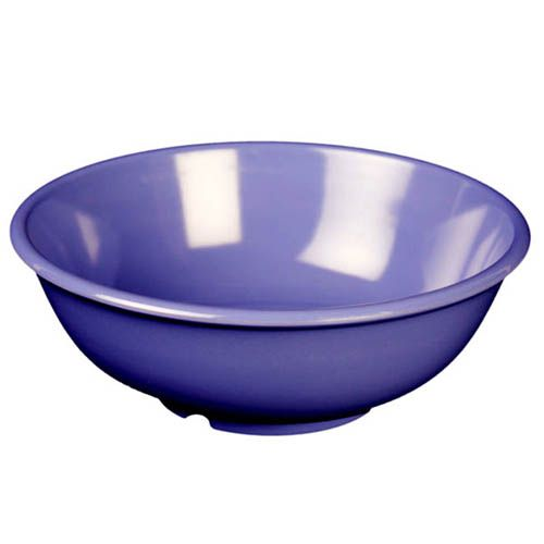 Thunder Group CR5807BU 32 Oz 7 1/2 Inch Western Purple Melamine Salad Bowl, DZ