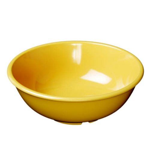 Thunder Group CR5807YW 32 Oz 7 1/2 Inch Western Yellow Melamine Salad Bowl, DZ