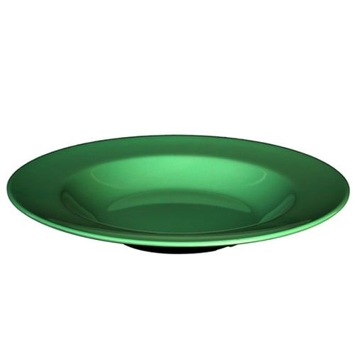 Thunder Group CR5809GR 13 Oz 9 1/4 Inch Western Green Melamine Salad Bowl, DZ