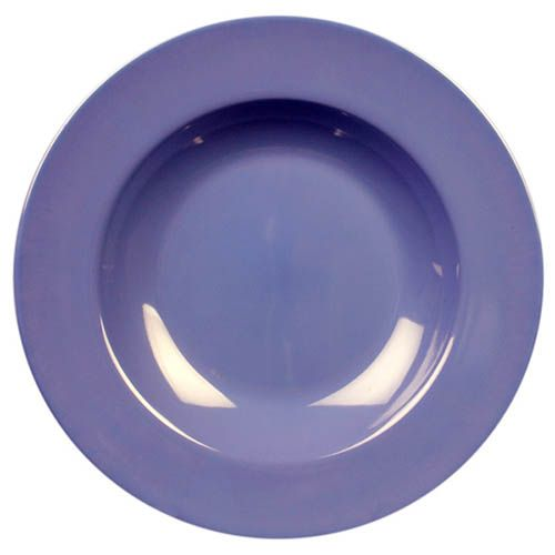 Thunder Group CR5811BU 16 Oz 11 1/4 Inch Western Purple Melamine Pasta Bowl, DZ