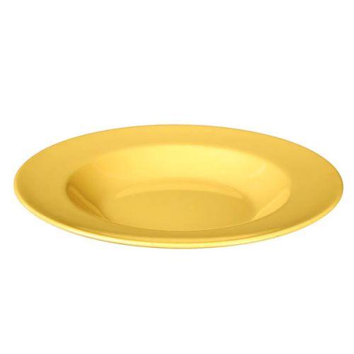 Thunder Group CR5811YW 16 Oz 11 1/4 Inch Western Yellow Melamine Pasta Bowl, DZ