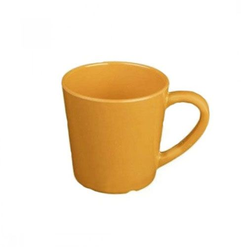 Thunder Group CR9018YW 7 Oz 3 1/8 Inch Western Yellow Melamine Mug, DZ