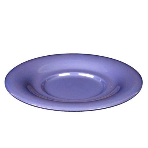 Thunder Group CR9108BU 5 1/2 Inch Western Purple Melamine Saucer, DZ