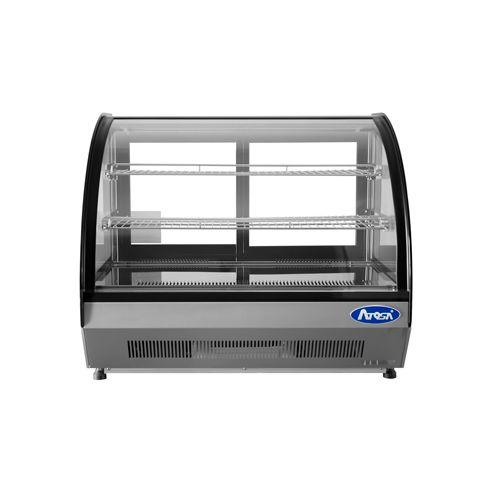 Atosa CRDC-46 4.6 Cu.Ft Curved Countertop Merchandiser