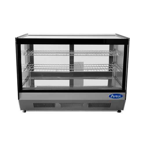 Atosa CookRite CRDS-56 5.6 Cu.Ft Square Countertop Merchandiser