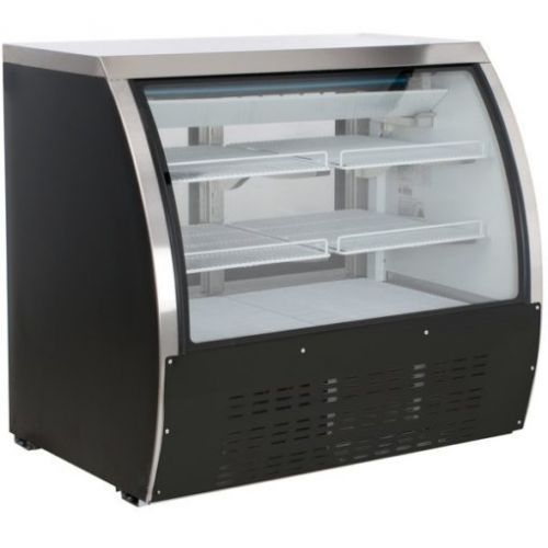 Coldline DC120B-HC Curved Glass Ref Deli Display Case