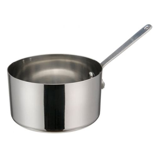 Winco DCWA-105S, 4-3/8-Inch Dia Stainless Steel Mini Sauce Pan with Long Handle