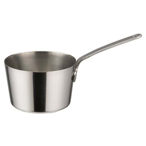 Winco DCWB-101S, 2-3/4-Inch Dia Stainless Steel Mini Taper Sauce Pan with Long Handle