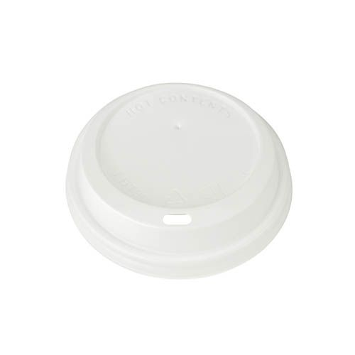 SafePro DDL10W White Dome Lid for 10/12/16/20 Oz Cups, 1000/CS