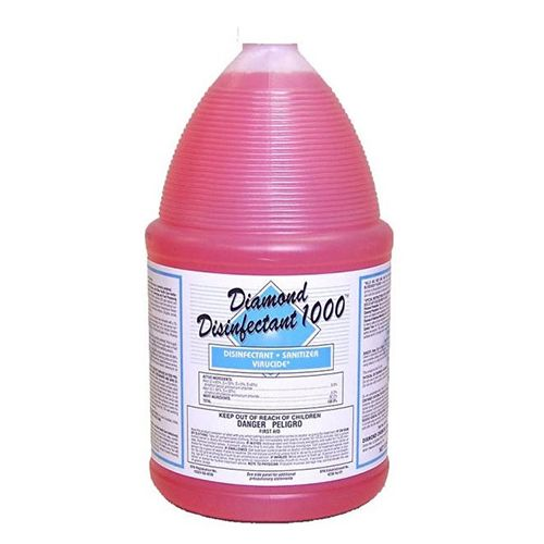 Diamond DD1000, 1-Gallon Cleaning Disinfectant - Concentrate, 4/CS
