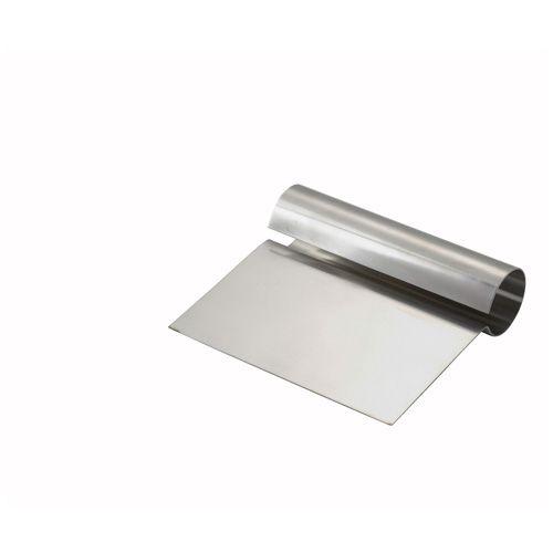 Winco DSC-1, 5.25x4x0.25-Inch Steel Dough Scraper