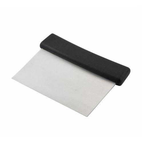 Winco DSC-2, Dough Scraper with Plastic Handle